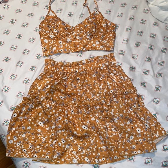 cute two piece outfit from Shein